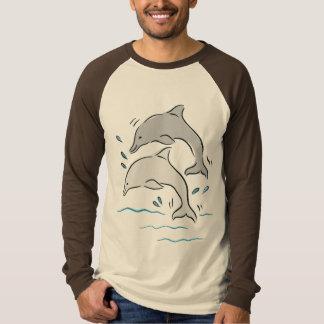 Delphin-Delphin-Meeressäugetier-Ozean T-Shirt