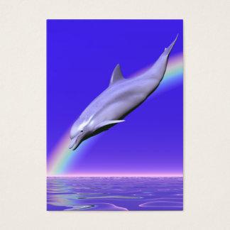Delphin-Download - mollig Visitenkarte