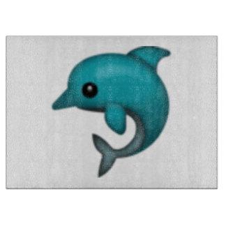 Delphin - Emoji Schneidebrett
