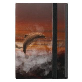 Delphin-Fantasie Hülle Fürs iPad Mini