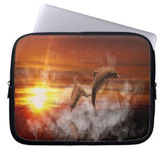 Delphin-Fantasie Laptop Sleeve