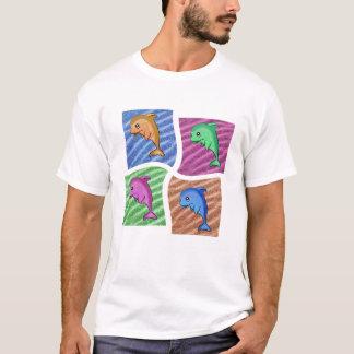 Delphin-Fenster T-Shirt