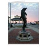 Delphin Grußkarte