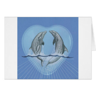 Delphin-Herz Karte