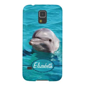 Delphin im blaues Wasser-Foto Samsung Galaxy S5 Cover