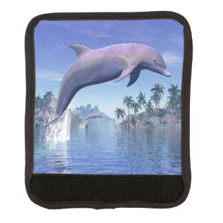Delphin in den Tropen - 3D übertragen Gepäck Markierung