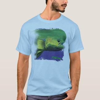Delphin-Kopf (mahimahi/dorado) druckte beide T-Shirt