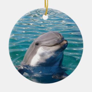 Delphin-Lächeln, personifiziert, wie gewünscht Keramik Ornament