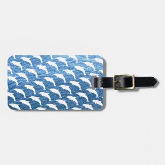 Delphin-Muster Koffer Anhänger