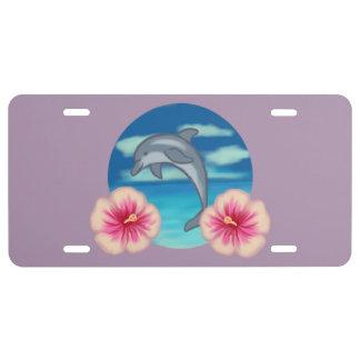 Delphin-Paradies US Nummernschild