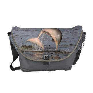 Delphin-Rickshaw-Bote-Tasche Kuriertasche