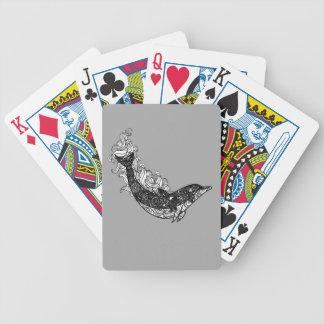 Delphin-Schwimmen Bicycle Spielkarten