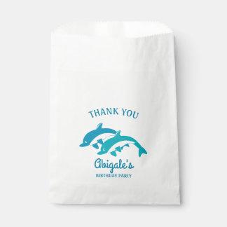 Delphin-Seeleben-Geburtstags-Party Geschenktütchen