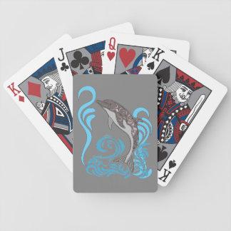 Delphin-Spritzen Bicycle Spielkarten