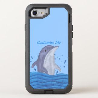 Delphin-Spritzen OtterBox Defender iPhone 8/7 Hülle