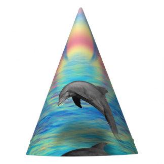 Delphin-Steigen Partyhütchen