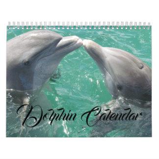 Delphin-Tauchen-hawaiischen Kalender