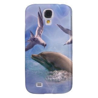 Delphin- und Tauchvögel Galaxy S4 Hülle