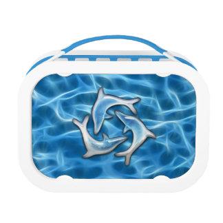 Delphine im Wasser