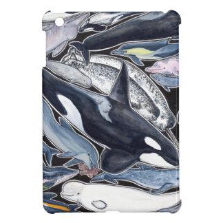 Delphine, orcas, belugas und Narvales, iPad Mini Hülle