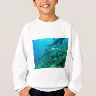 Delphinfisch-Marineozean unter Wasser-Schwimmen Sweatshirt