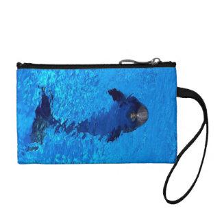 Delphinwristlet-Geldbeutel Kleingeldbörse