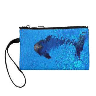 Delphinwristlet-Geldbeutel Münzbörse