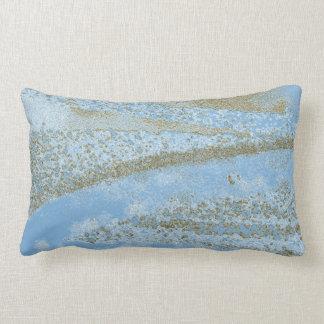 """Delta blue"" - Pillow"