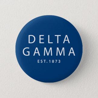 Deltagamma | Est. 1873 Runder Button 5,7 Cm