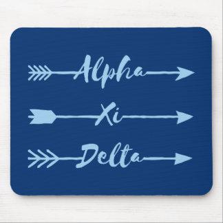 Deltapfeil des Alpha-XI Mousepad