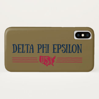 Deltaphi Epsilon-USA iPhone X Hülle
