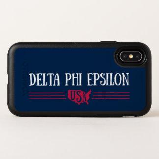 Deltaphi Epsilon-USA OtterBox Symmetry iPhone X Hülle