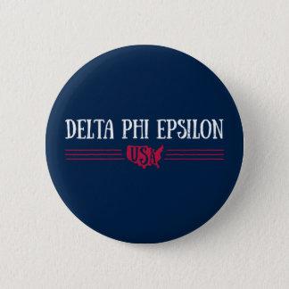 Deltaphi Epsilon-USA Runder Button 5,1 Cm