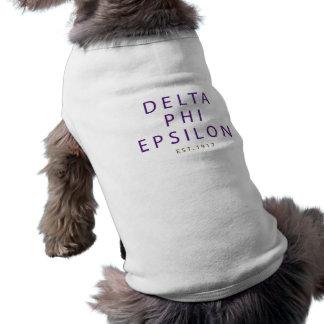 Deltaphi-moderne Epsilonart T-Shirt