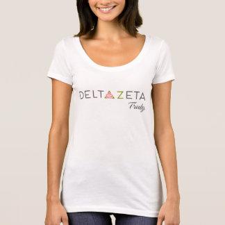 Deltazeta-Primärlogo mit Versprechen T-Shirt