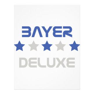 deluxe Ikone Bayers Flyerdesign