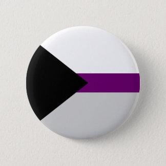 Demi-sexueller Flaggenknopf Runder Button 5,1 Cm