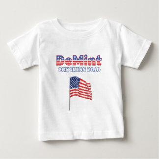 DeMint patriotische Wahlen Flagge-2010 Baby T-shirt