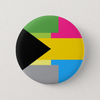 Demiromantic Pansexual Button