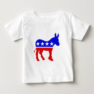Demokrat-Esel-politisches Symbol Baby T-shirt