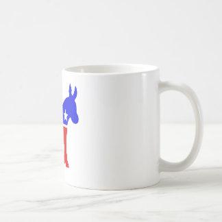 Demokrat-Esel-politisches Symbol Tasse