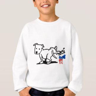 Demokrat-Hund Sweatshirt