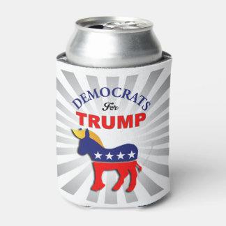 DEMOKRATEN FÜR TRUMPF!! Trumpocrats! Schalten Sie Dosenkühler