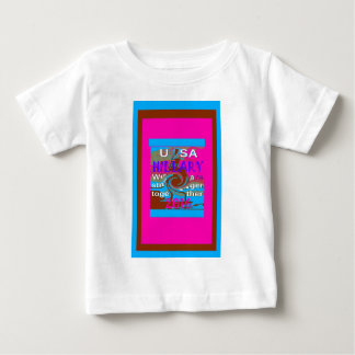 Demokraten Hillary für USA Präsidenten We sind Baby T-shirt