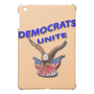 Demokraten vereinigen Blau iPad Mini Hülle