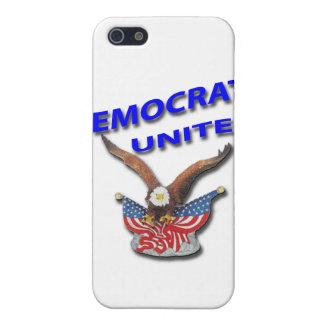 Demokraten vereinigen Blau iPhone 5 Schutzhülle