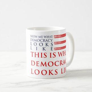 Demokratie-Klassiker-Tasse Kaffeetasse