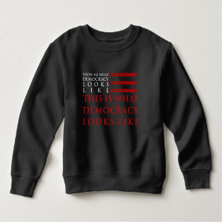 Demokratie-Kleinkind-Dunkelheits-Sweatshirt Sweatshirt