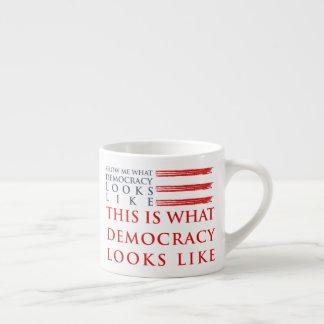 Demokratieespresso-Tasse Espressotasse