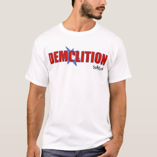 Demolierung T-shirt_newest, Softball T-Shirt